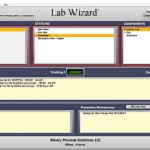 Lab Wizard Main Screen Analysis Scheduler Manager, Based on database setup of your chemical Process, stations, and components